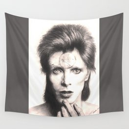bowie - spider from mars... Wall Tapestry