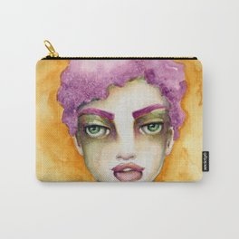 Original Watercolor Illustration by Jenny Manno Art/Elaine Carry-All Pouch