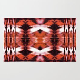 Watercolor Ikat Spice Rug