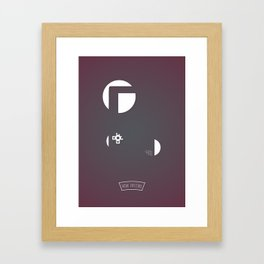 G... ..Y Framed Art Print
