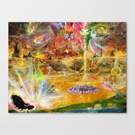 Rise of the Fallen Stars Canvas Print