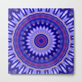 Some Other Mandala 314 Metal Print