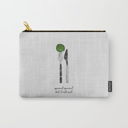 Sprout Sprout, Vegan, Vegetarian Carry-All Pouch