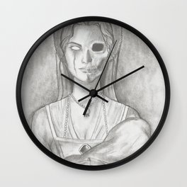 Lady Constance Wall Clock