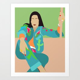 80's Icons Illustration Art Print
