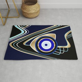Eye Am Here Rug