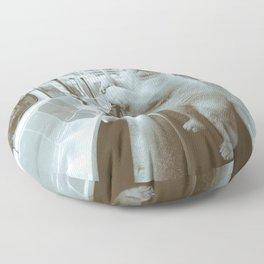 polar express Floor Pillow