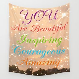 """ You Are..."" Wall Tapestry"