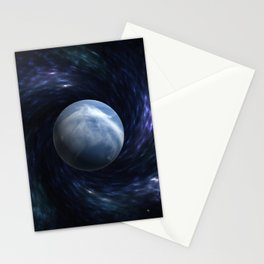 Space Wizard Stationery Cards