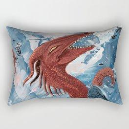 Cheerful Sea Dragon Rectangular Pillow