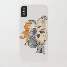 Cat Nap (Siesta Time) iPhone Case