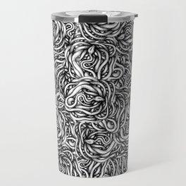 Infinite Snake Pattern Travel Mug