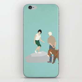 Kidnapping Caucasian Style iPhone Skin