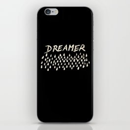 DREAMER #1 #typo #drawing #decor #art #society6 iPhone Skin