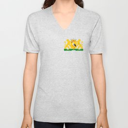 Coat of arms of The Hague Unisex V-Neck