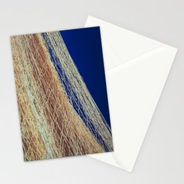 Nylon fishnet on the clear sky Stationery Cards