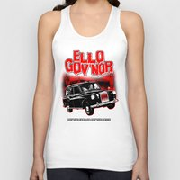 regular show Tank Tops featuring Ello Gov'nor! Regular Show by Mark Welser