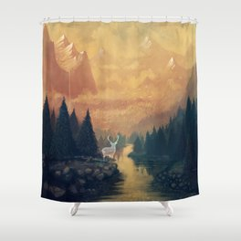 Ancient Spirit Shower Curtain