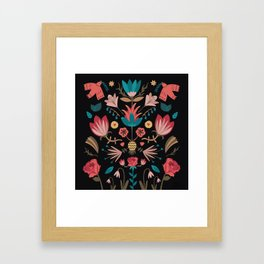 Folk Art Framed Art Print