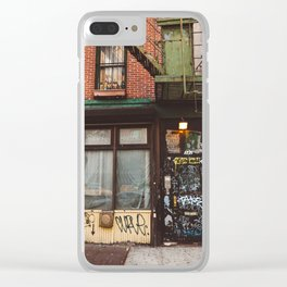 East Village Clear iPhone Case