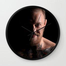 conor mcg Wall Clock