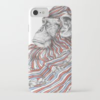 ape iPhone & iPod Cases featuring Ape by Guillem Bosch