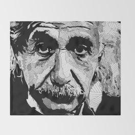 Einstein Throw Blanket