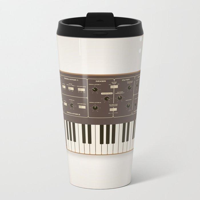 The Synth Project - Moog Prodigy Metal Travel Mug