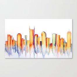 Nashville Tornado Relief Print Canvas Print
