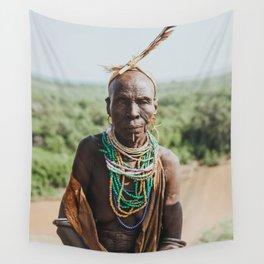 Karo Tribeswoman III Wall Tapestry