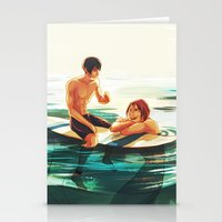 viria Stationery Cards featuring rinharu by viria