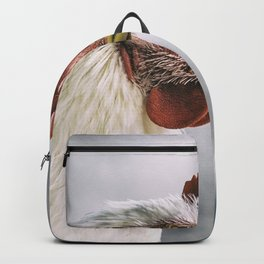 The white rooster Backpack