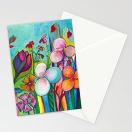 Flower Garden: After the Rain Stationery Cards