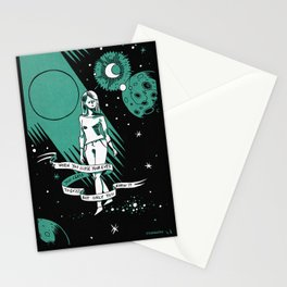 When you close your eyes Stationery Cards