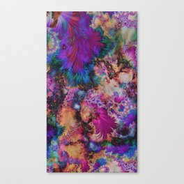 Eloping Canvas Print