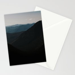 mountain sound Stationery Cards