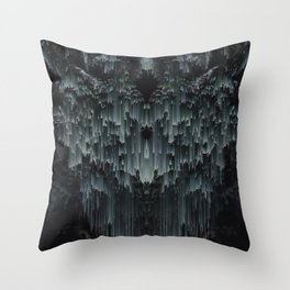 oh so quiet Throw Pillow