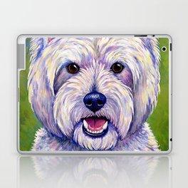 Colorful West Highland White Terrier Dog Laptop & iPad Skin