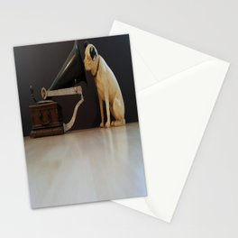 Nipper is listening-His Master's Voice Stationery Cards