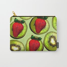 KIWI AND STRAWBERRY COCKTAIL Carry-All Pouch
