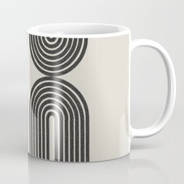 Mid Century Art - Arch shape Coffee Mug