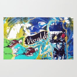 VIVALDI: Concerto for Two Violins          by Kay Lipton Rug