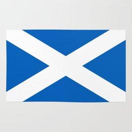 Flag of Scotland - High quality image Rug