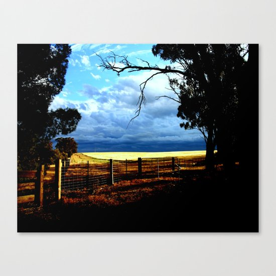 Gateway to a Storm  Canvas Print