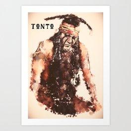 The Spiritual Warrior Art Print