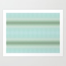 Seaside Stripes Art Print
