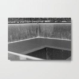 WTC Memorial 1/2/World trade Center Metal Print