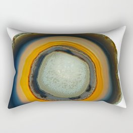 agate slice no.4 Rectangular Pillow