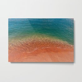 Tropical Waters Metal Print