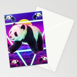 Panda Rave - Raving Panda Stationery Cards